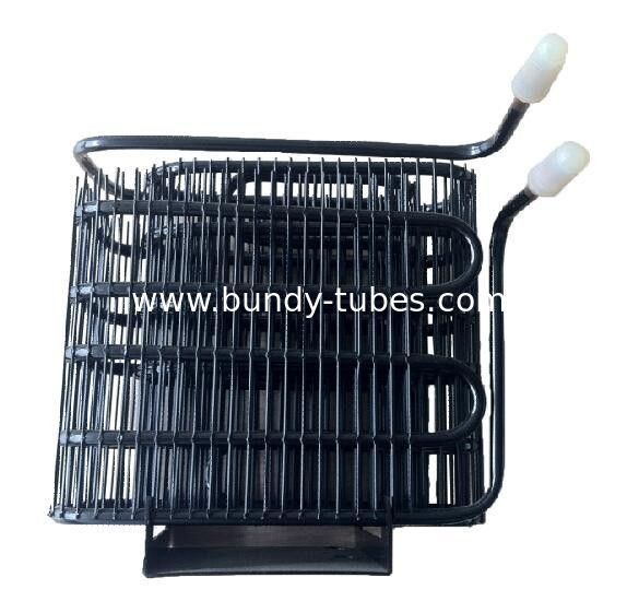Wire Tube Refrigerator Condenser For Refrigerator Spare Parts , Water Cooled Condenser
