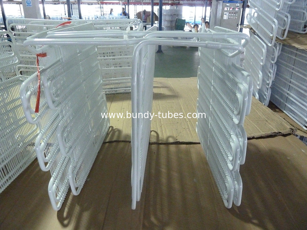 Wire Tube Refrigeration Evaporators Environmental Protection Meet National Standard