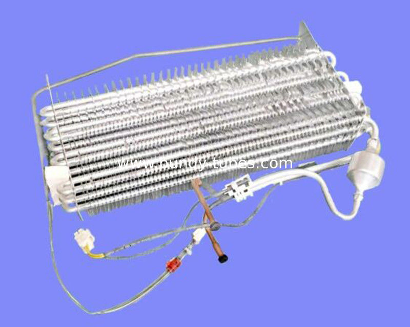 Economical defrost heater finned evaporator / refrigerator freezer parts