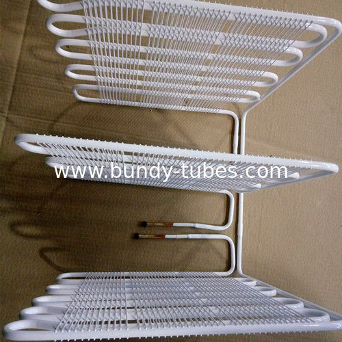 Fridge Wire Bundy Tube With Anticorrosive Coated For 400 L Refrigerator