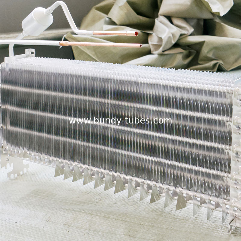 Freezer Refrigeration Evaporators , Finned Aluminum Evaporator In Refrigeration System