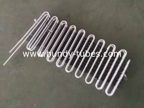 Copper Tube Aluminum Fin Cooling Evaporator For Refrigerator , Fridge Evaporator