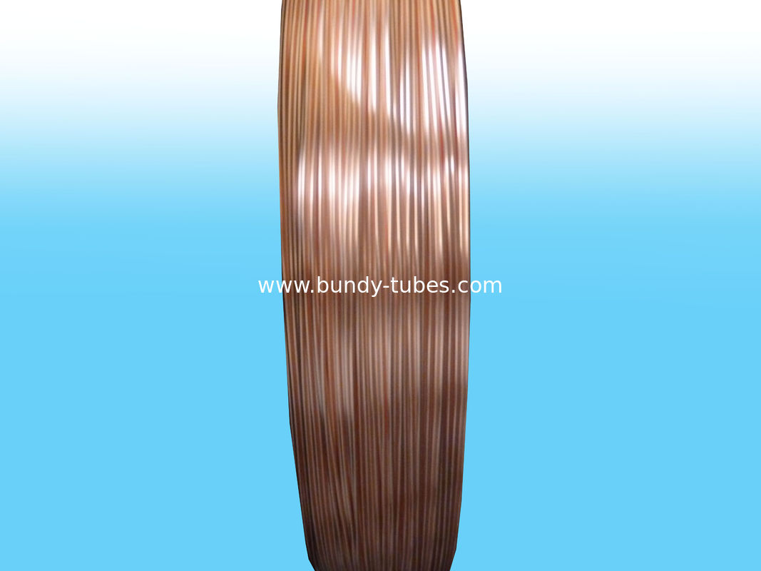 Wire-Tube refrigerator Condenser Using Copper Coated Bundy Tube 6.35mm X 0.65 mm