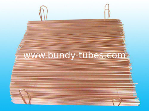 Precise Coating Copper Double Wall Welded Pipe , wall thickness 0.7mm