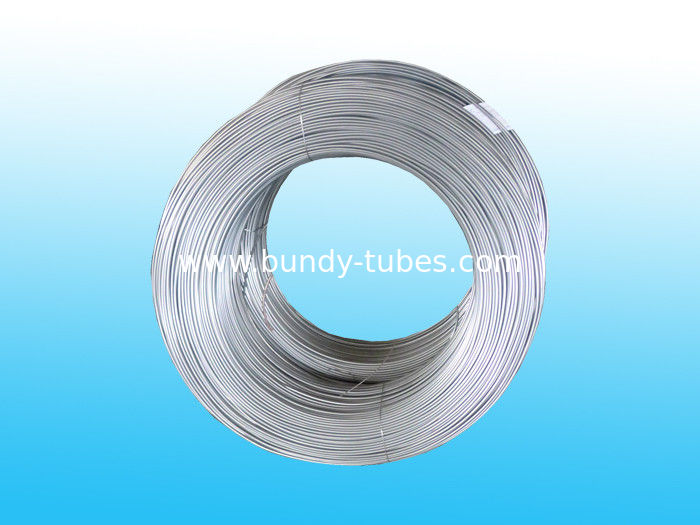 Zn And Hot Galvanized Bundy Pipe With Electric Coating 8 * 0.5 mm