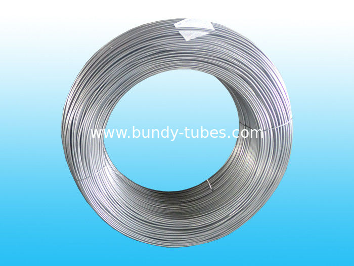 Galvanized Steel Bundy Pipe For Condenser 4.2 * 0.5 mm