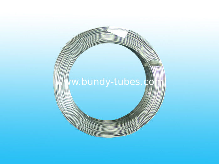 Low Carbon Galvanized Steel Budy Pipe 8 * 0.65 mm for Evaporators