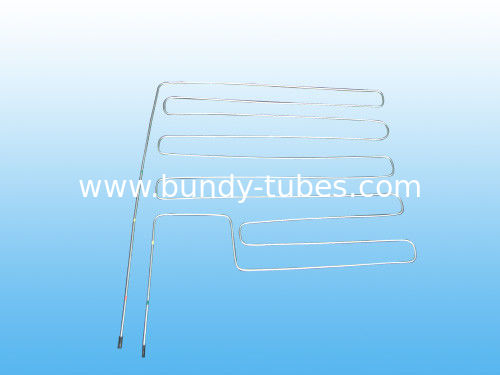 Zinc Coated Condenser Tube 4 * 0.5 mm / Refrigeration Tube