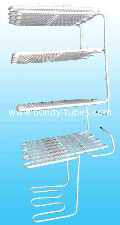 Copper Coated Refrigeration Evaporators / Wire Tube Weld Evaporator